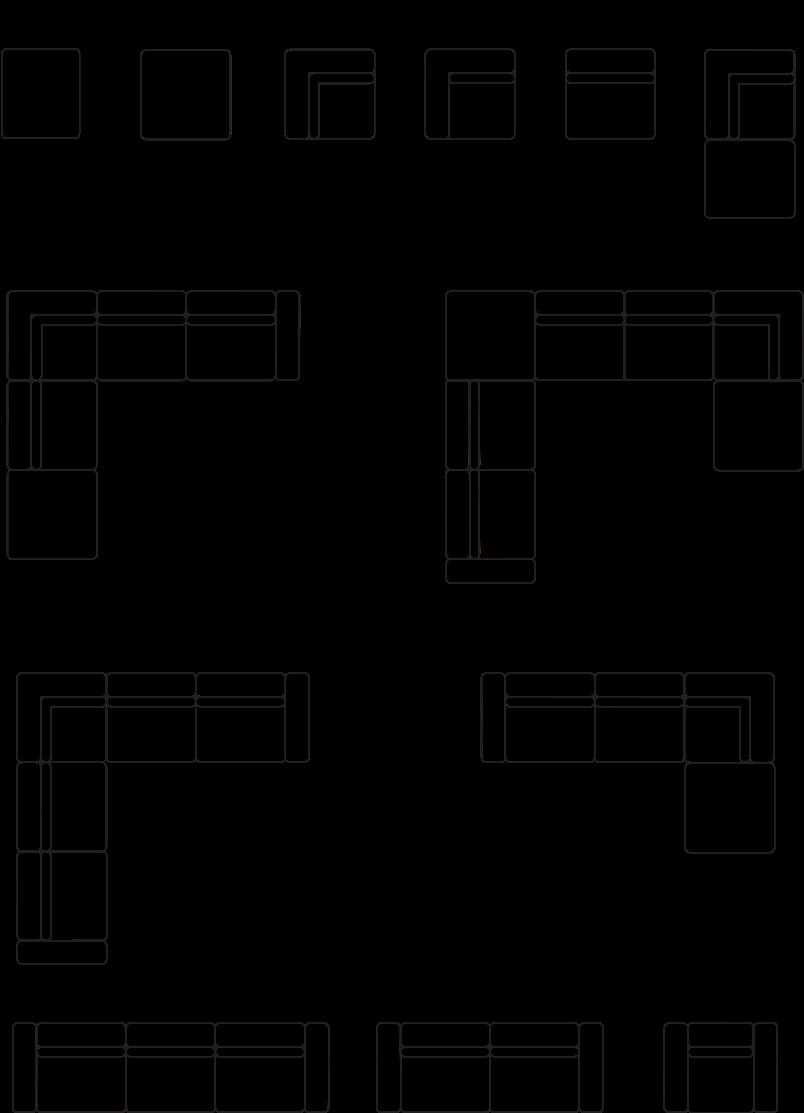 Dostępne układy modelu LIONL