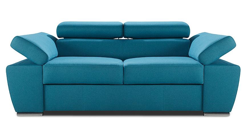 Sofa RICARDO 2 to mebel niebywale elegancki i praktyczny. Jego wyjątkowa stylistyka będzie pięknym i mocnym