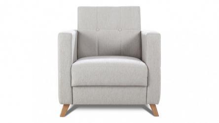 Fotel SCANDI jest uzupełnieniem w nowoczesnym wydaniu sofy SCANDI - ta występuje w wersji 3-osobowej