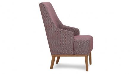 Fotel CAMPARI jest połączeniem zarówno dobrego wzornictwa, jak i piękna i komfortu. Siedzisko fotela