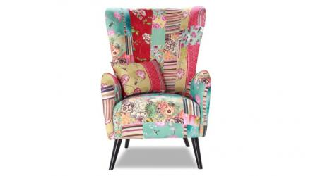 Klasyczny kształt siedziska z wysokim oparciem w fotelu MILANO tworzy wspólną całość z konstrukcyjną