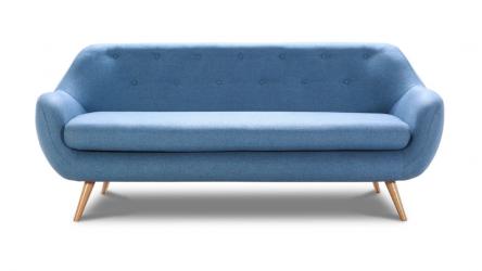 STILO sofa 3 osobowa w modnym skandynawskim stylu.