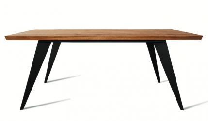 Designerski stół LOFT 8011 z naturalnego dębu.
