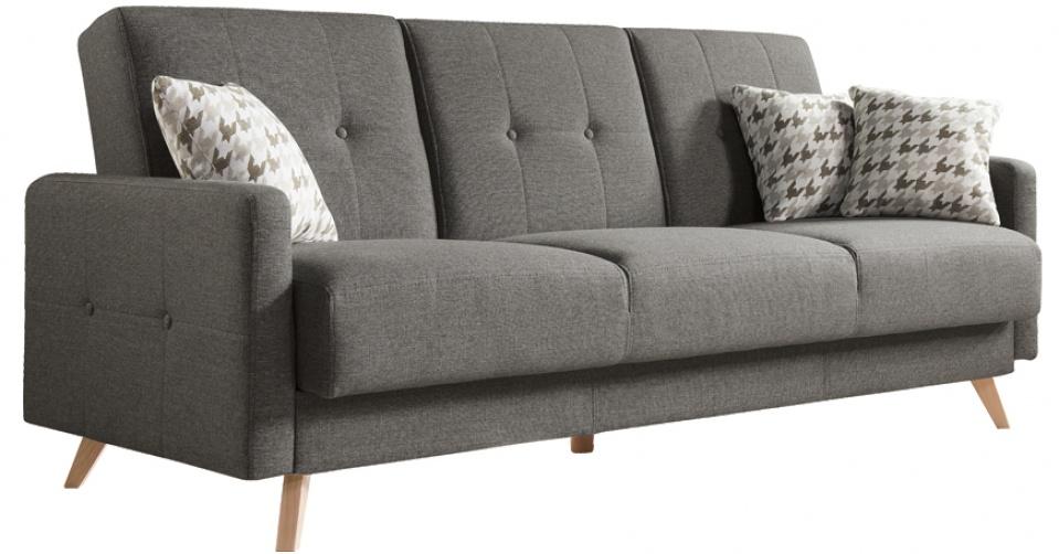 Sofa SCANDI w ciemno szarym kolorze