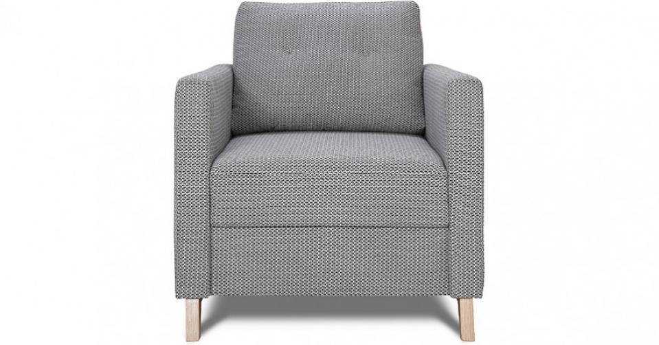YOKO wygodny fotel w skandynawskim stylu.