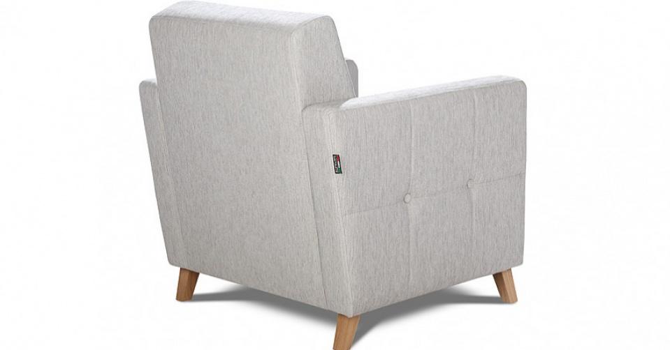 Fotel doskonale prezentuje się z każdej strony.