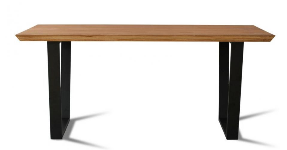 LOFT 9011 - solidny stół w industrialnym stylu.