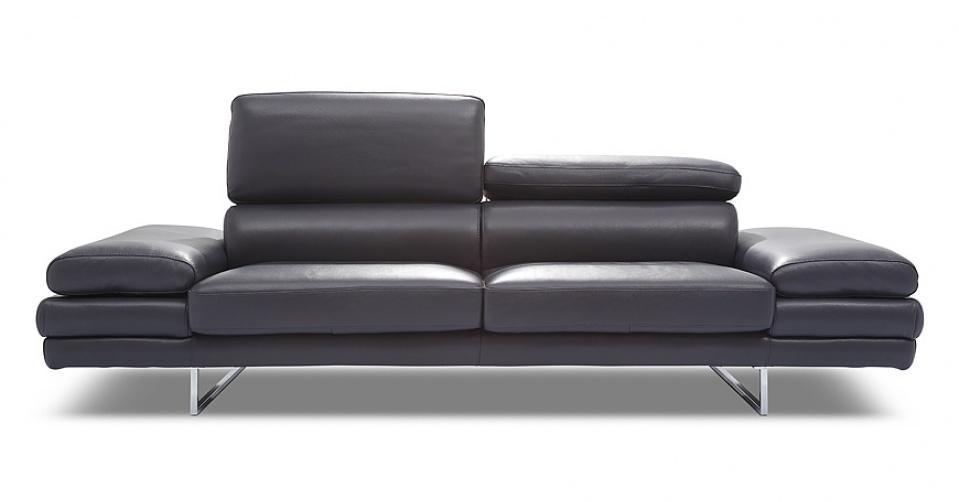 BRUNO sofa 2,5 osobowa w skórze naturalnej.