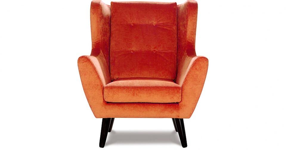 CLEO wizualizacja w kolorze orange.