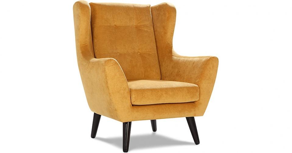 CLEO sofa fotel w tkaninie hydrofobowej Milton.