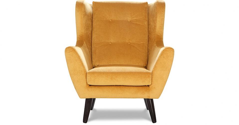 CLEO fotel w tkaninie hydrofobowej Milton.