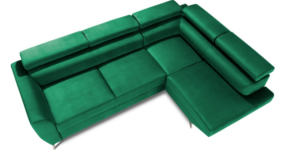 Szerokie płaszczyzny siedzisk zapewniają błogi komfort.