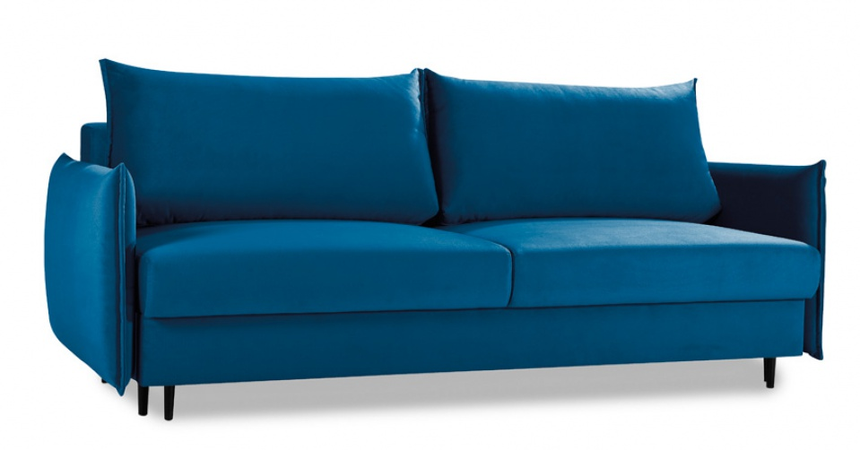 EGO sofa 3 osobowa z wygodną funkcją spania i pojemnikiem.