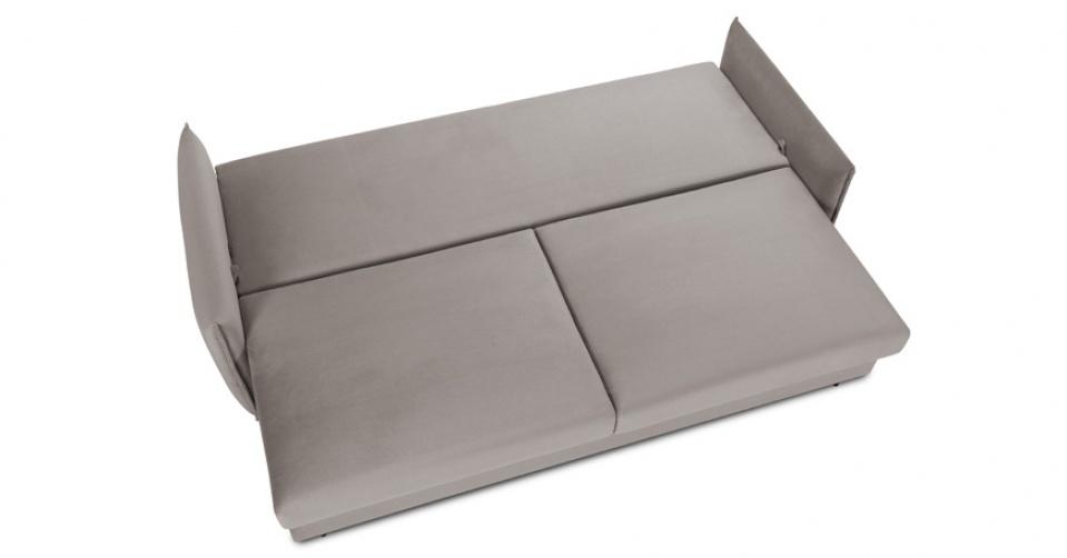 Wygodna funkcja spania podkreśla funkcjonalność sofy.