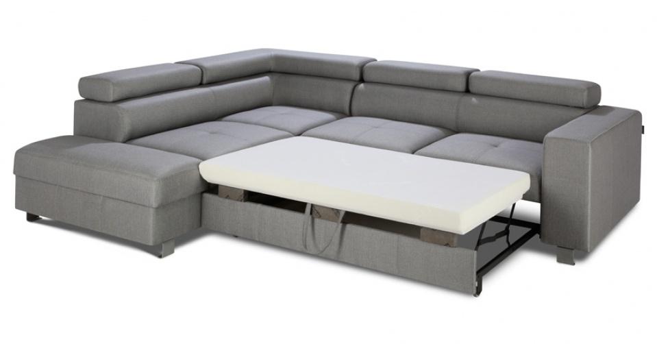 Funkcja spania pokryta jest materiałem antyalergicznym.