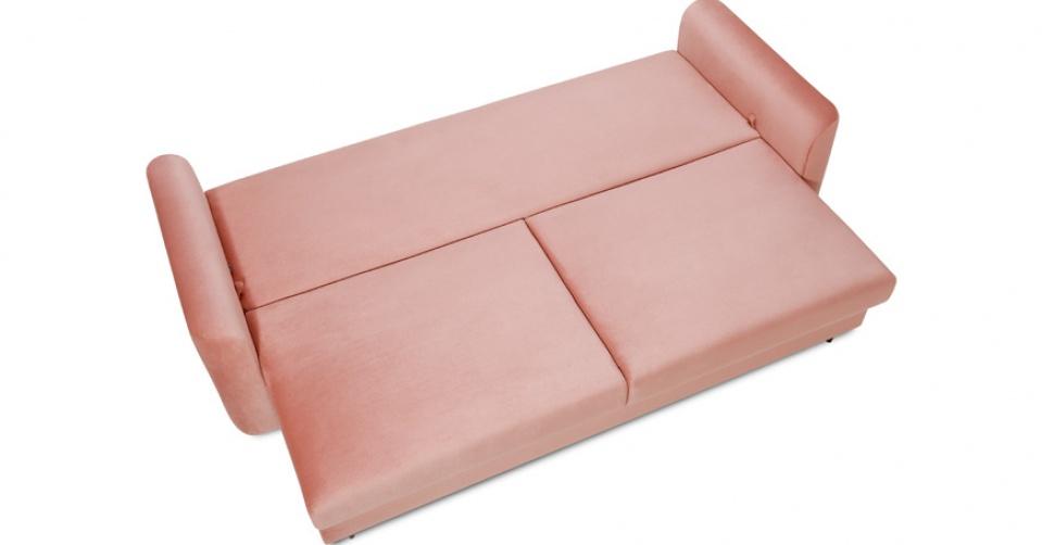 Duża i wygodna powierzchnia spania jest standardem w kolekcji.