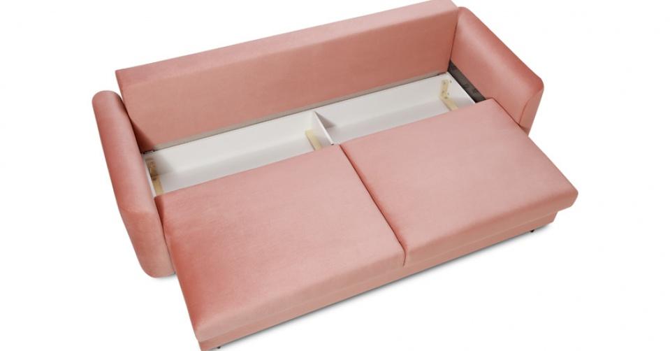 Ukryty pod siedziskiem pojemnik jest atutem sofy ALTO.