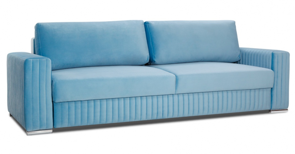 GLAMOUR sofa 3DL z funkcją spania i pojemnikiem