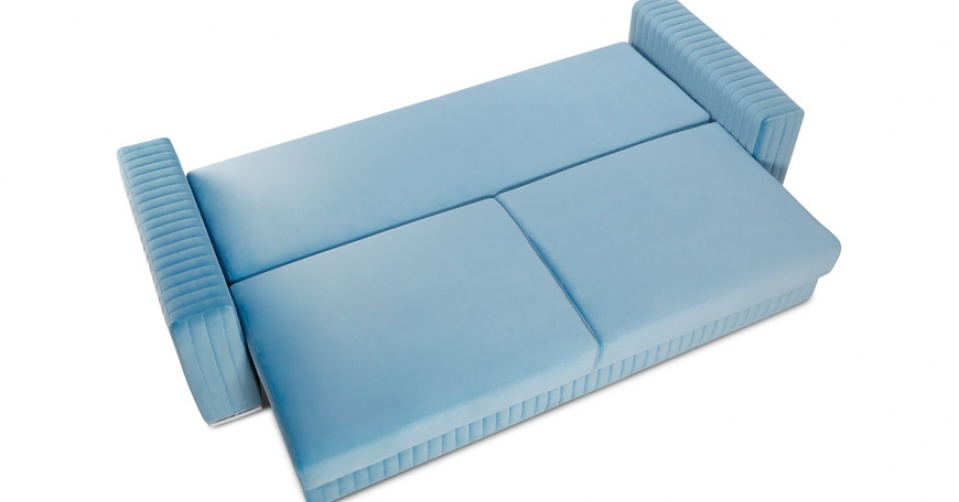 GLAMOUR sofa 3 osobowa z wygodną funkcją spania