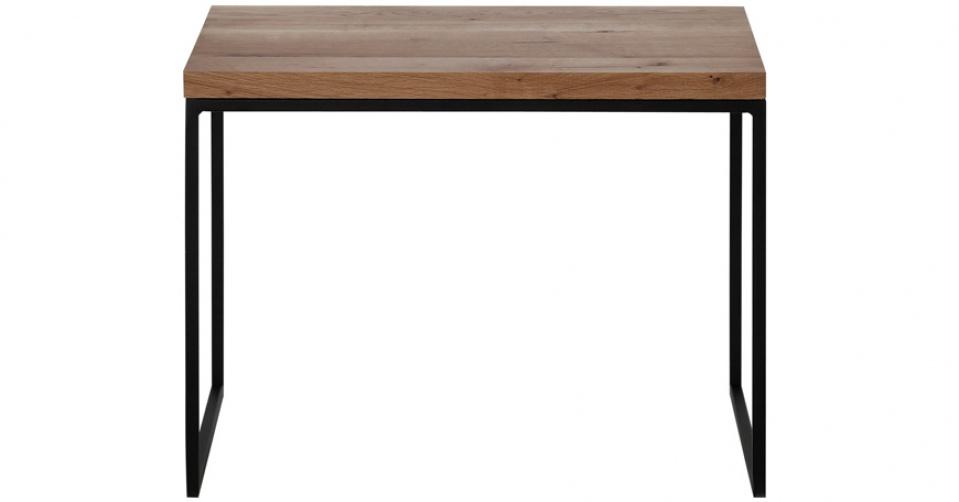 Designerski stolik - nadstawka dębowa.