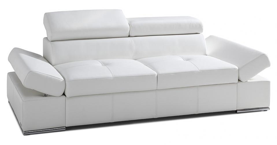 LORENZO sofa 2 osobowa z regulowanymi podłokietnikami.