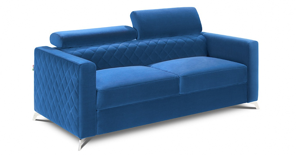 Sofa 2 osobowa MENTOR w tkaninie typu velvet.