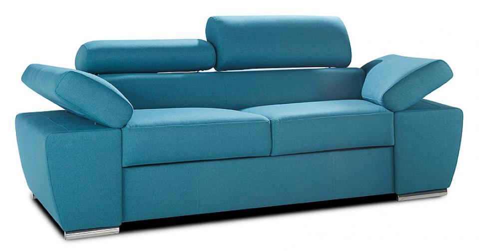 Sofa RICARDO doskonale prezentuje się z każdej strony.