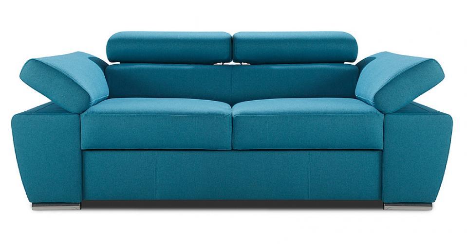 RICARDO sofa 2,5 osobowa w turkusowym kolorze.