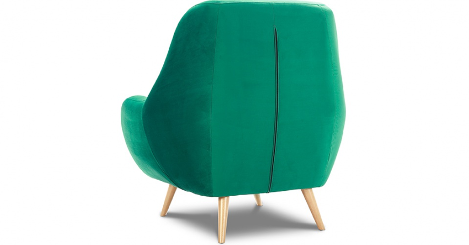 Fotel STILO pięknie prezentuje się z każdej strony.