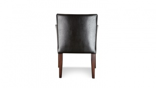 BARI Urok fotela podkreśla zastosowanie naturalnych drewnianych elementów, które wraz ze skórzaną tapicerką, stanowią o niezwykłej dostojności tego subtelnego mebla o optycznie lekkiej konstrukcji.