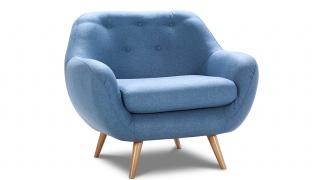 Fotel Stilo z niskim oparciem