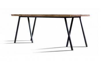 stół dębowy w stylu loft