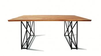 Designerski stół LOFT 1211 z naturalnego dębu.