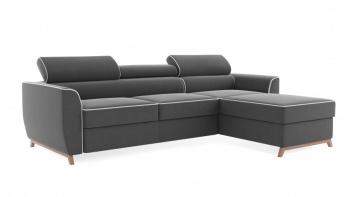 NOVEL zapewnia komfort przez duże K. Miękkie i sprężyste siedziska oraz regulowane