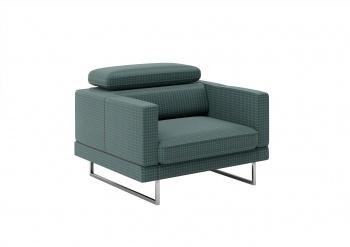 BRUNO zachwyca elegancją i minimalizmem formy - tu proszę zwrócić uwagę na wąskie i proste boki fotela, a jego wyrazisty
