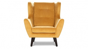 CLEO fotel w tkaninie hydrofobowej ułatwiającej czyszczenie.