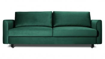 Sofa 3 osobowa ALTO z funkcją spania w modnym zielonym kolorze.