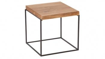 LOFT 7036 designerski dębowy stolik kawowy.