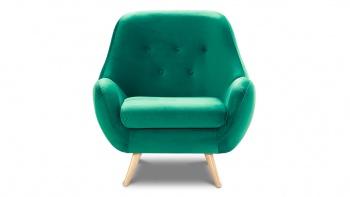 Wymiary fotela z wysokim oparciem ( fotel w kolorze zielonym)