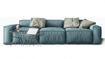 Modułowa i komfortowa sofa ALBERTO w wersji 3 osobowej