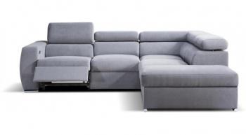 VENTO B-1RX-1-E-1-D komfortowy narożnik z funkcją relaksu.
