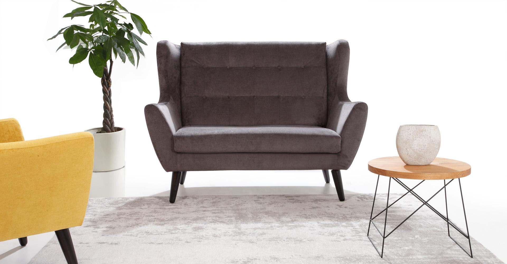 CLEO sofa 2 osobowa w skandynawskim stylu.