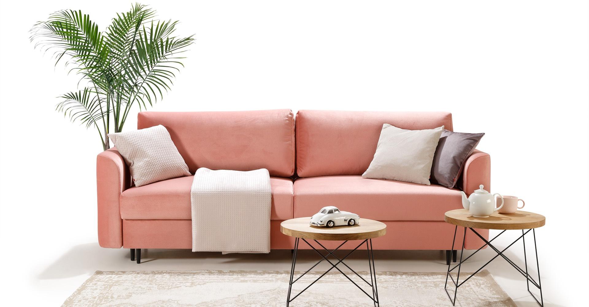 Komfortowa sofa ALTO z wygodną funkcją spania DL.