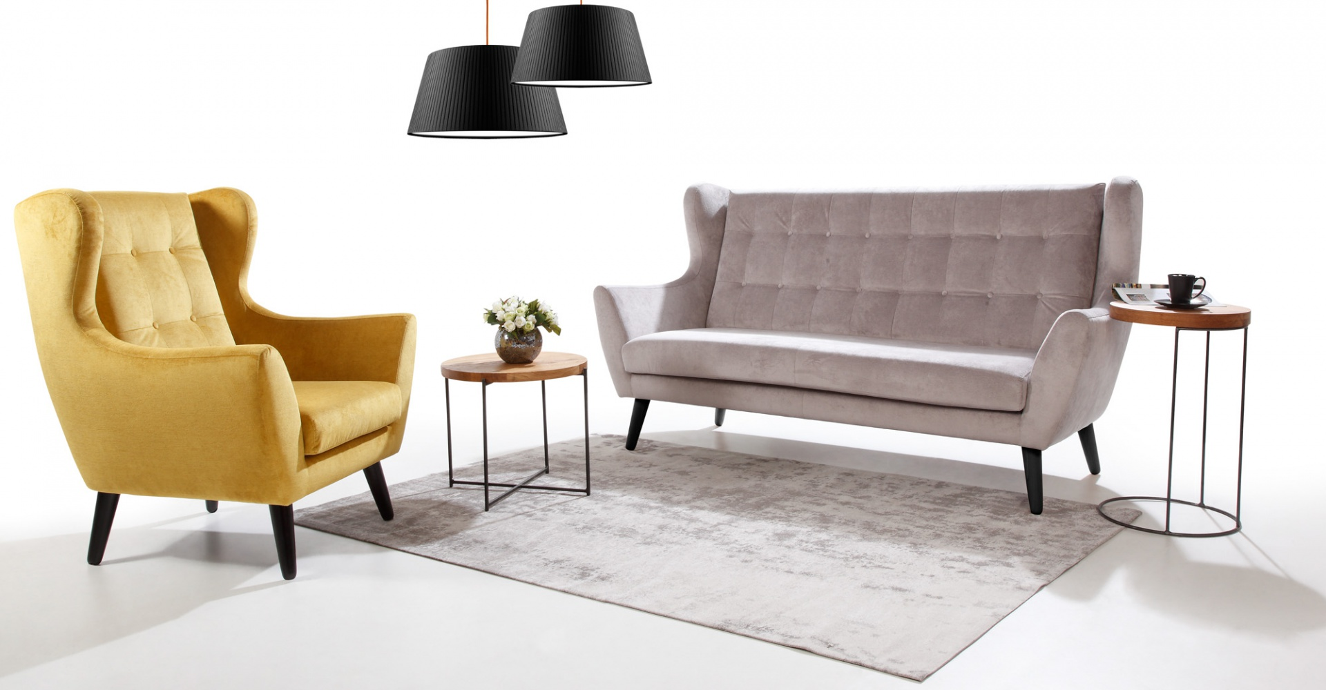 CLEO fotel - skandynawski styl